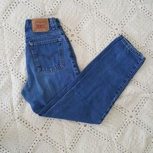 {Levi's} Vintage 550 mom jeans high rise